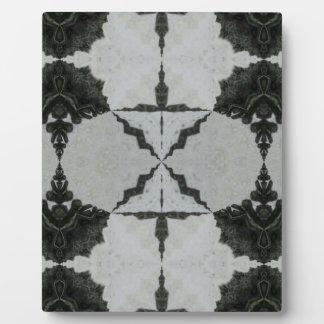 Plaque Photo Araignée, noir et gris de loup de kaléidoscope