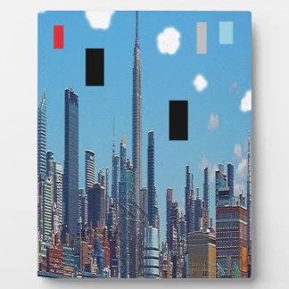 Plaque Photo Arc-en-ciel New York