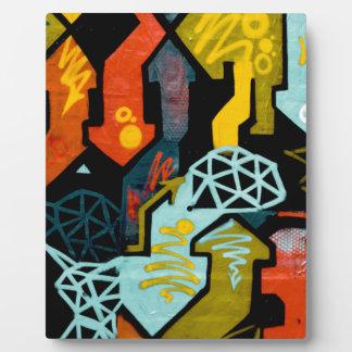 Plaque Photo Art abstrait des flèches