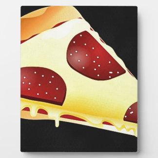 Plaque Photo Art de pizza