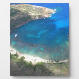 Plaque Photo Baie Hawaï de Hanauma