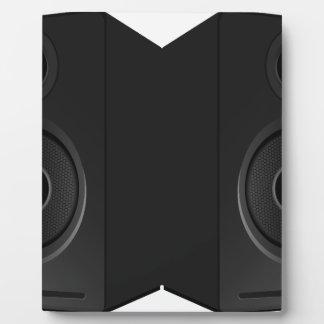 Plaque Photo Bande dessinée de boîte à musique