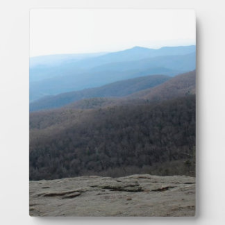 Plaque Photo Blue Ridge Mountains en Caroline du Nord
