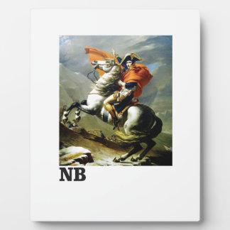 Plaque Photo Bonaparte napolitain