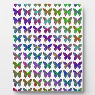 Plaque Photo Bonheur de papillon