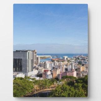 Plaque Photo Capitale d'horizon de Port-Louis des Îles Maurice