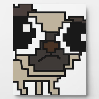 Plaque Photo carlin stupide de pixel
