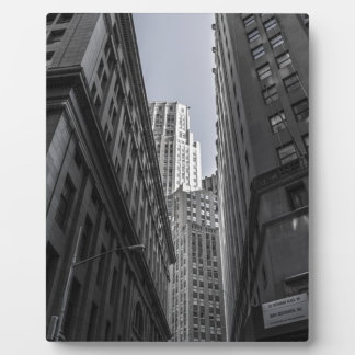 Plaque Photo Centre Metropole de New York City de gratte-ciel