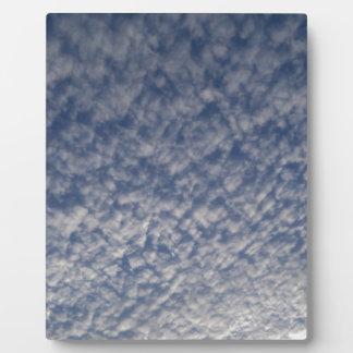 Plaque Photo ciel de maquereau