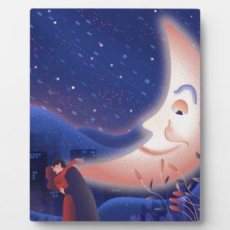 Plaque Photo Clair de lune