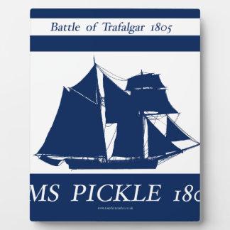 Plaque Photo Conception nautique bleue de 1805 conserves au
