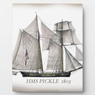 Plaque Photo Conserves au vinaigre 1805