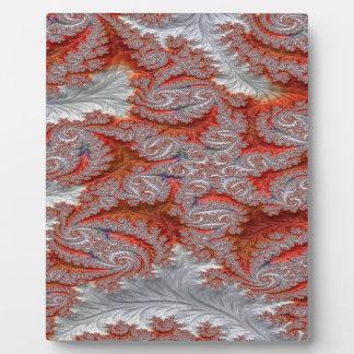 Plaque Photo Contact de fractale d'étincelle