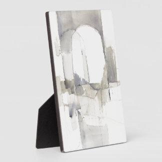 Plaque Photo Copie abstraite de gris de l'improvisation I