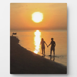 Plaque Photo Coucher du soleil dans Bali