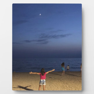 Plaque Photo Coucher du soleil de l'Espagne