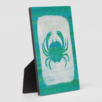 Plaque Photo Crabe côtier d'Aqua de |