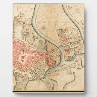 Plaque Photo Cracovie Pologne 1755