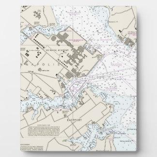 Plaque Photo Diagramme de port d'Annapolis