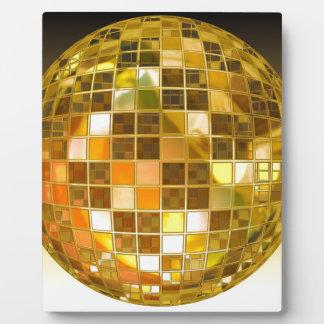 Plaque Photo Disco de partie de lumière de danse de saut de