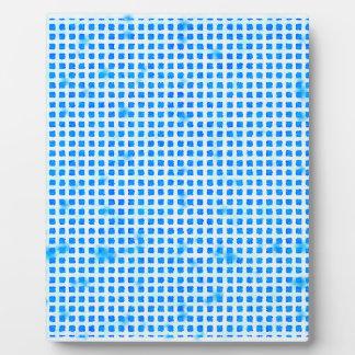 Plaque Photo Disparaissent le bleu !