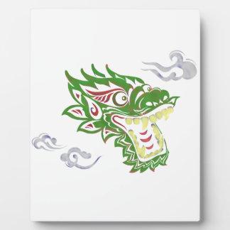 Plaque Photo Dragon Japonias