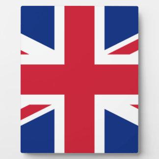 """Plaque Photo Drapeau BRITANNIQUE """"Union Jack """" du Royaume-Uni"""