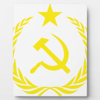 Plaque Photo Drapeau de guerre froide de Communiste