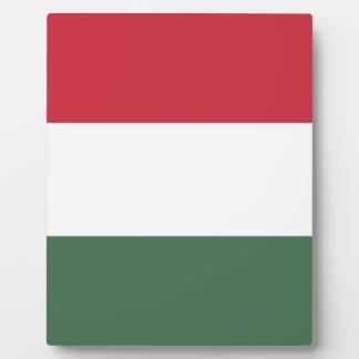 Plaque Photo Drapeau de zászlaja de la Hongrie - du