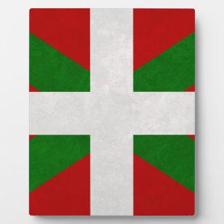 Plaque Photo Drapeau Pays Basque Euskadi