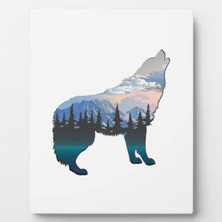 Plaque Photo Écho de Yellowstone