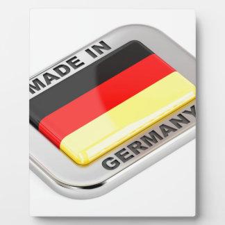 Plaque Photo Fabriqué en Allemagne