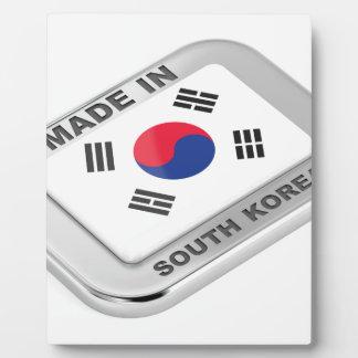 Plaque Photo Fabriqué en Corée du Sud