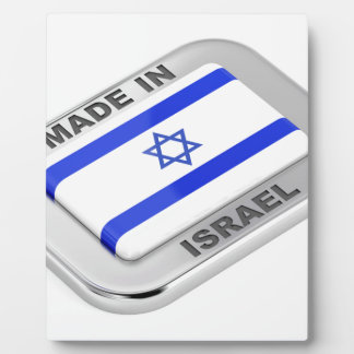 Plaque Photo Fabriqué en Israël