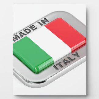 Plaque Photo Fabriqué en Italie
