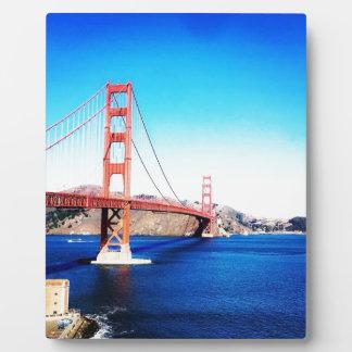 Plaque Photo Fait en San Fransisco