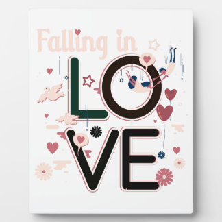 PLAQUE PHOTO FALLING IN LOVE