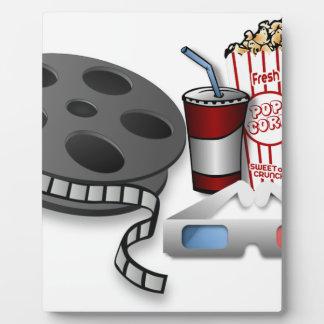 Plaque Photo film 3D