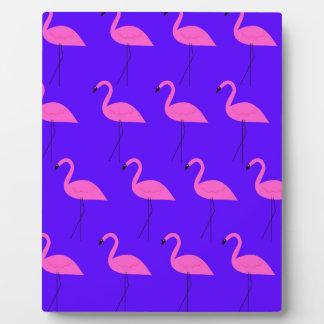 Plaque Photo Flamants de conception exotiques sur la collection