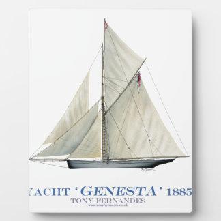 Plaque Photo Genesta 1885