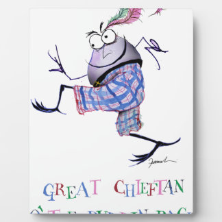 Plaque Photo grande puddin-course chieftan d'o'the