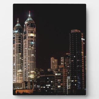 Plaque Photo Horizon de Mumbai Inde