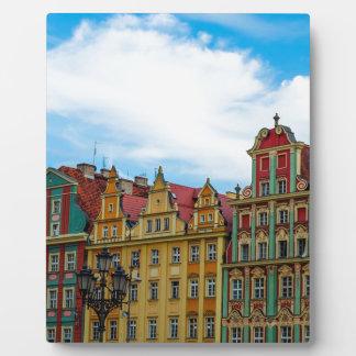 Plaque Photo Horizon de Wroclaw Pologne