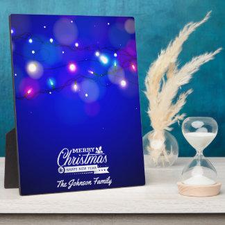 Plaque Photo Illustration de Joyeux Noël et de bonne année