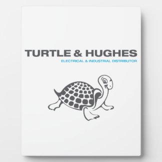 Plaque Photo Illustration de tortue et de Hughes