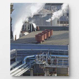 Plaque Photo Infrastructure, bâtiments et canalisation