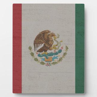 Plaque Photo International de drapeau du Mexique