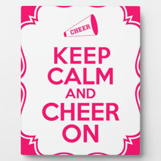 Plaque Photo KeepCalmCheer.jpg