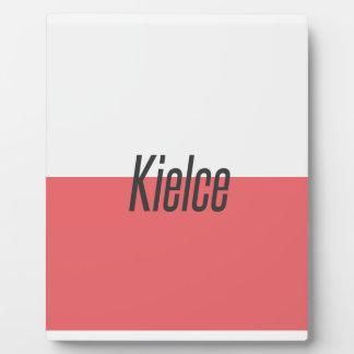 Plaque Photo Kielce