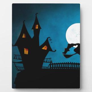 Plaque Photo La Chambre de la sorcière de Halloween Helloween